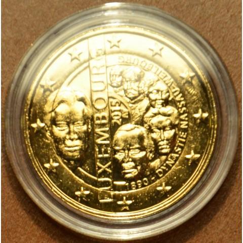 2 Euro Luxembourg 2015 - Dynasty Nassau-Weilburg (gilded UNC)