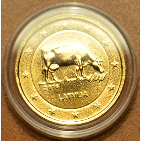 2 Euro Latvia 2016 - Latvian agricultural industry (gilded UNC)