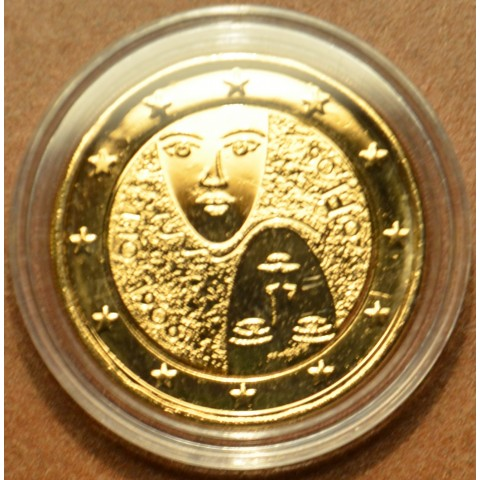 2 Euro Finland 2006 - 1st Centenary of the Introduction of Universal and Equal Suffrage (gilded UNC)