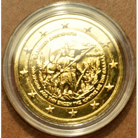 2 Euro Greece 2013 - 100th Anniversary of the union of Crete with Greece (gilded UNC)