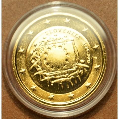 2 Euro Slovenia 2015 - 30 years of European flag (gilded UNC)