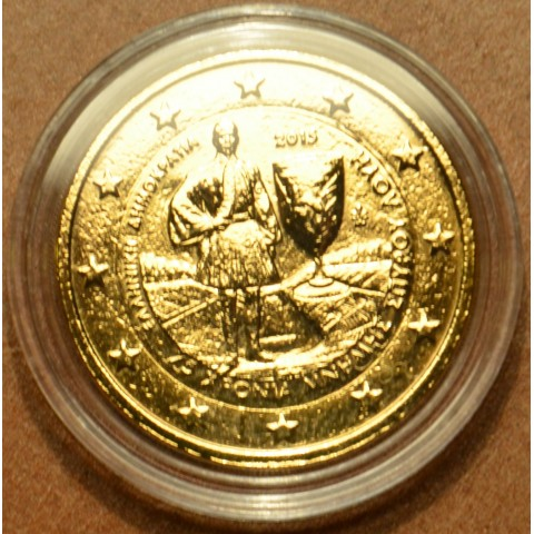 2 Euro Greece 2015 - 75 years since the death of Louis Spyridon (gilded UNC)