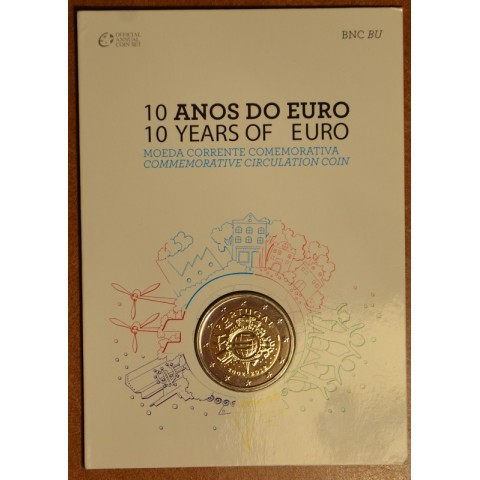 2 Euro Portugal 2012 - Ten years of Euro (BU card)