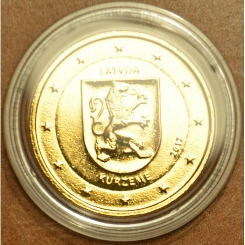 2 Euro Latvia 2017 - Kurzeme (gilded UNC)