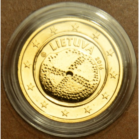 2 Euro Lithuania 2016 - Baltic culture (gilded UNC)