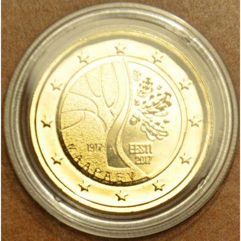 2 Euro Estonia 2017 - Road to independence (gilded UNC)