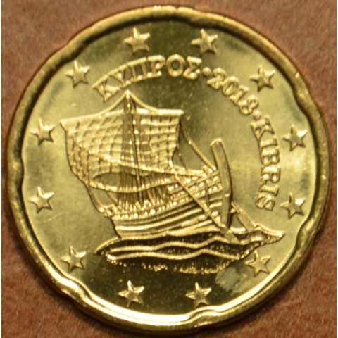 20 cent Cyprus 2018 (UNC)