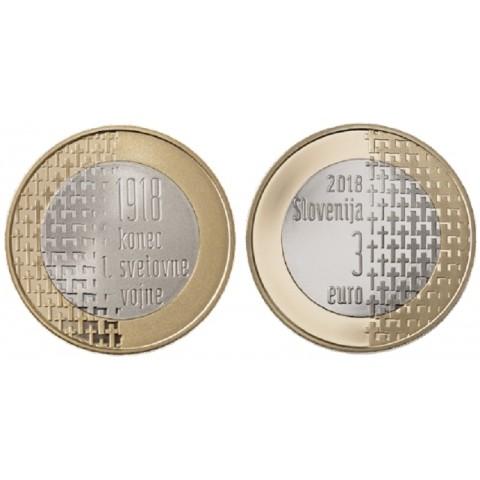 3 Euro Slovenia 2018 (UNC)