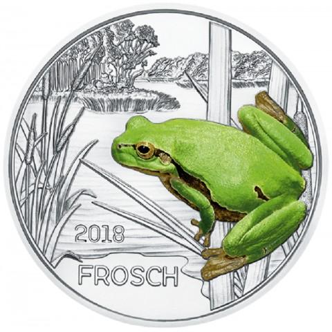 3 Euro Austria 2018 Frog (UNC)