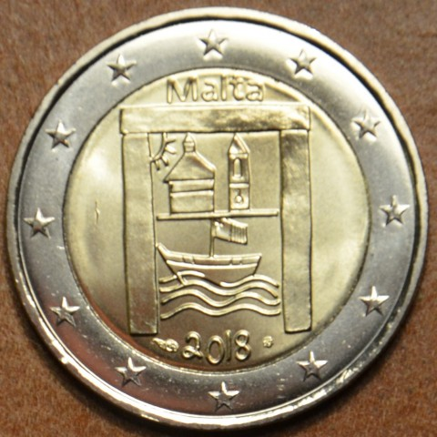 2 Euro Malta 2018 - Cultural heritage (BU)