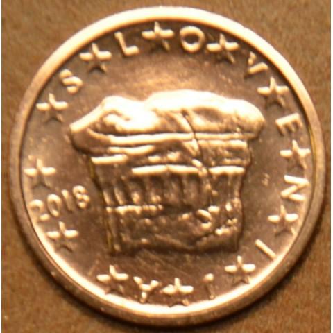 2 cent Slovenia 2018 (UNC)
