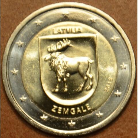 2 Euro Latvia 2018 - Zemgale (UNC)