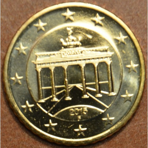 "50 cent Germany ""F"" 2015 (UNC)"