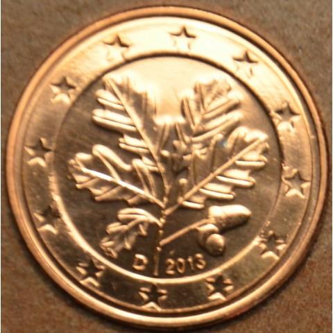 """2 cent Germany """"D"""" 2013 (UNC)"""