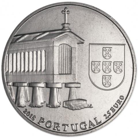 2,5 Euro Portugal 2018 - Espigueiros (UNC)
