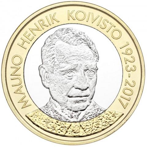 5 Euro Finland 2018 - Mauno Koivisto (UNC)