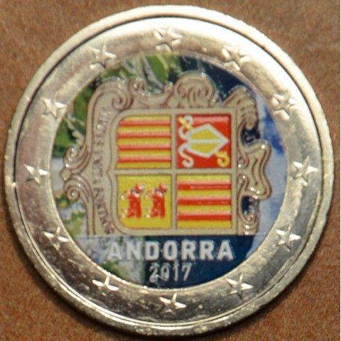 2 Euro Andorra 2017 (colored UNC)