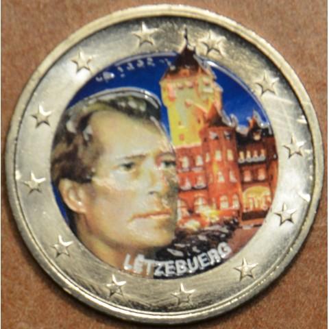 2 Euro Luxembourg 2008 - Grand-Duke Henri and the 'Château de Berg' (colored UNC)