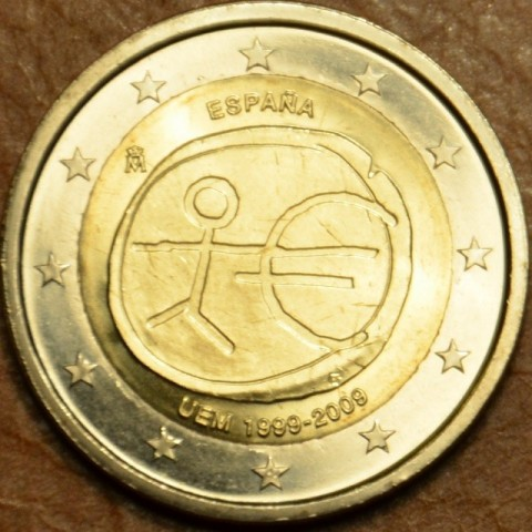 2 Euro Spain 2009 - 10th Anniversary of the Introduction of the Euro (UNC)