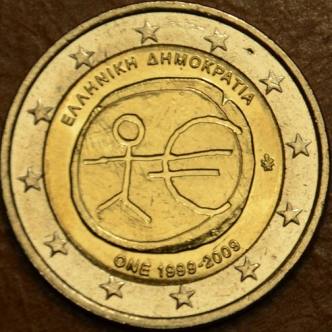 2 Euro Greece 2009 - 10th Anniversary of the Introduction of the Euro (UNC)