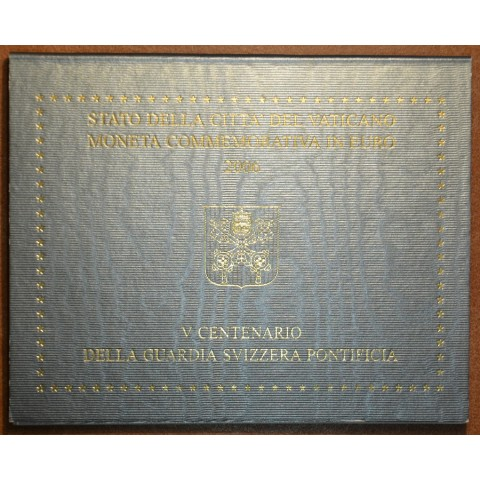 Cover for 2 Euro Vatican 2006 - 500th Anniversary of the Swiss Guard