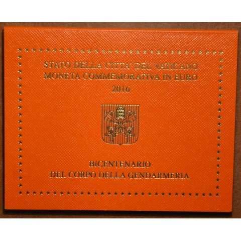 Cover for 2 Euro Vatican 2016 - 200 years of Gendarmeria