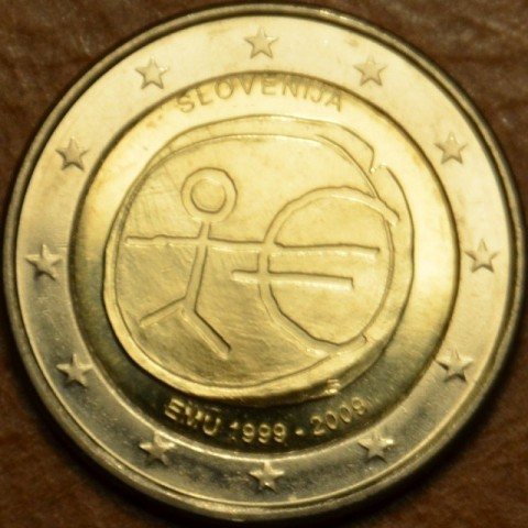 2 Euro Slovenia 2009 - 10th Anniversary of the Introduction of the Euro (UNC)