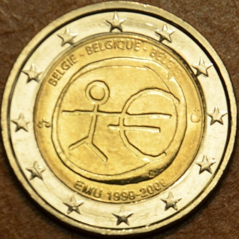 2 Euro Belgium 2009 - 10th Anniversary of the Introduction of the Euro (UNC)