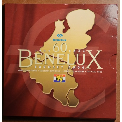 Official set of coins BeNeLux 2004  (BU)