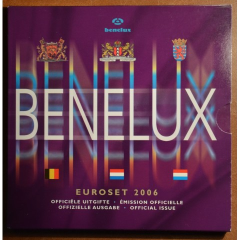 Official set of coins BeNeLux 2006  (BU)