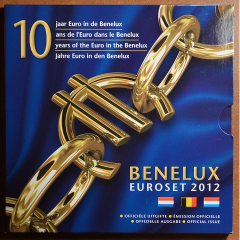 Official set of coins BeNeLux 2012  (BU)