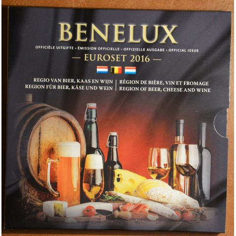 Official set of coins BeNeLux 2016  (BU)