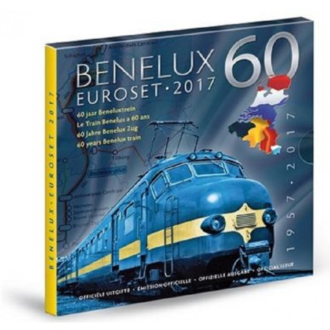 Official set of coins BeNeLux 2017  (BU)