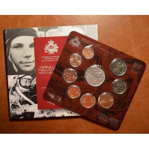 Official 9 coins set of San Marino 2011 (BU)