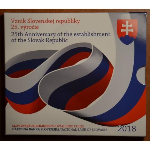Set of 9 Slovak coins 2018 (BU)