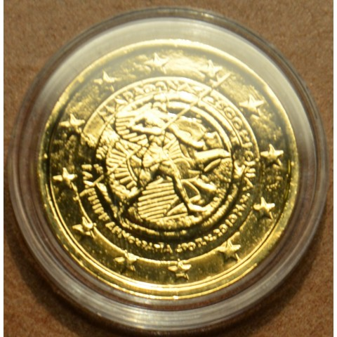 2 Euro Greece 2010 - 2.500th anniversary of the Battle of Marathon (gilded UNC)