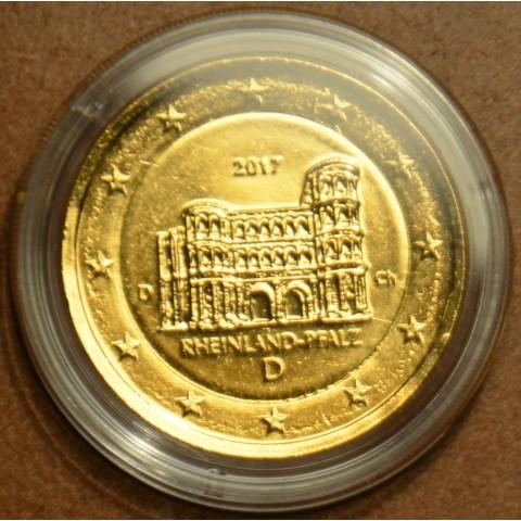 "2 Euro Germany ""D"" 2017 - Rheinland-Pfalz: Porta Nigra (gilded UNC)"