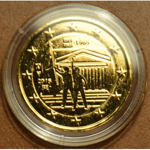 2 Euro Belgium 2018 - 1968 (gilded UNC)
