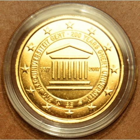 2 Euro Belgium 2017 - University of Ghent (gilded UNC)