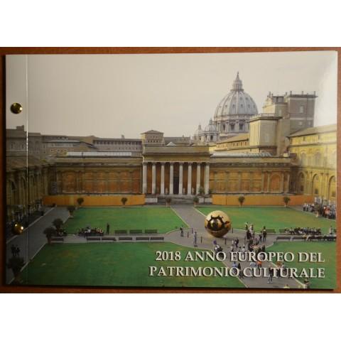 2 Euro Vatican 2018 Numisbrief - European Year of Cultural Heritage (BU)