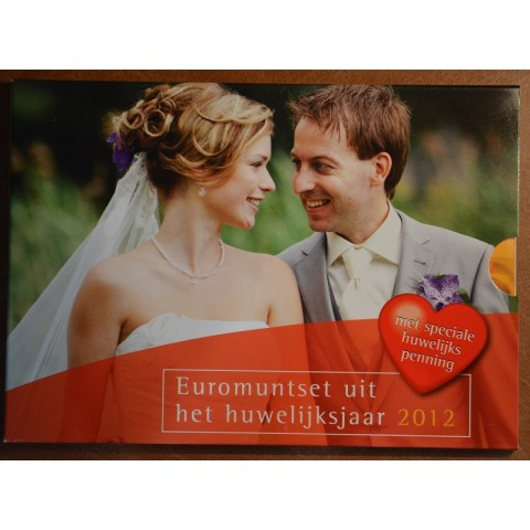 Set of 8 coins Netherlands 2012 Wedding set (BU)